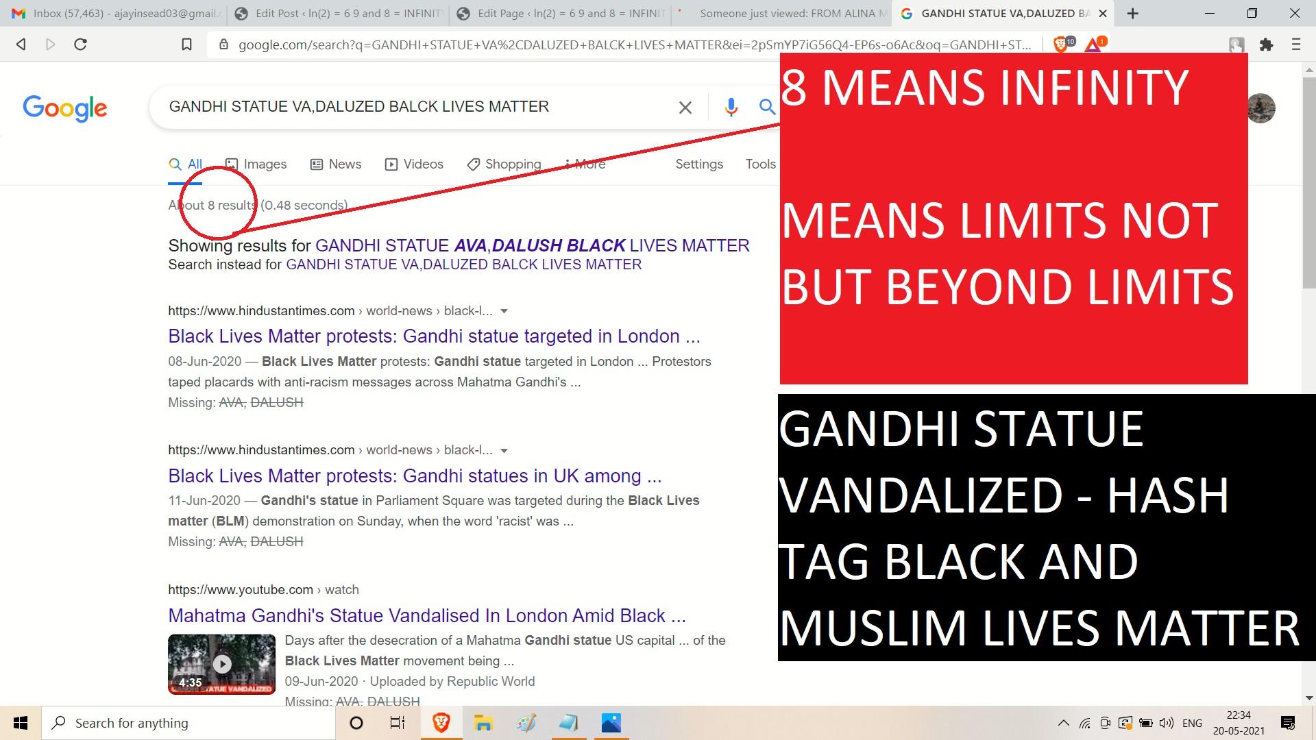 BLACK LIVS MATTER GANDHI SARES VALDLIASED WOW BLM WOW BEAHCNHOD