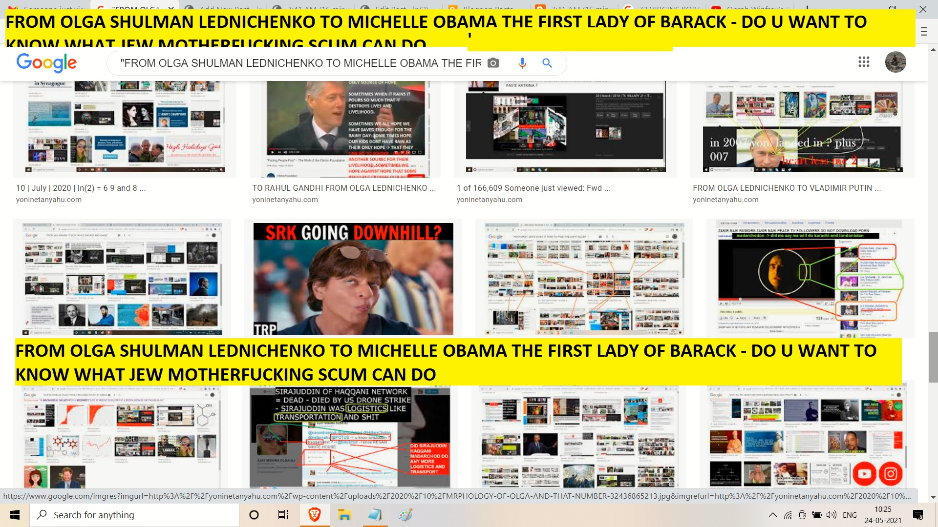 FROM OLGA SHULMAN LEDNICHENKO TO MICHELLE OBAMA THE FIRST LADY OF BARACK - DO U WANT TO KNOW WHAT JEW MOTHERFUCKING SCUM CAN DO ----=---===========