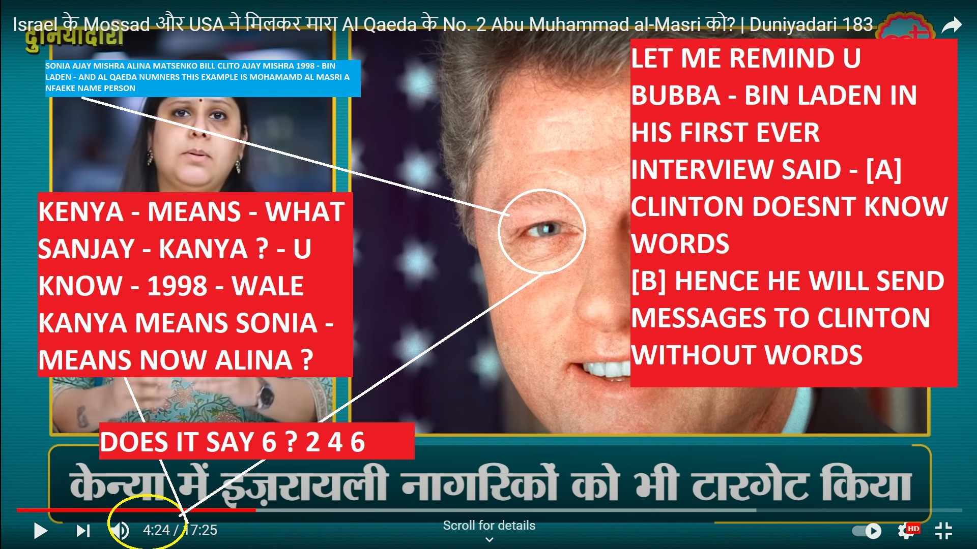 SONIA AJAY MISHRA ALINA MATSENKO BILL CLITO AJAY MISHRA 1998 - BIN LADEN - AND AL QAEDA NUMNERS THIS EXAMPLE IS MOHAMAMD AL MASRI A NFAEKE NAME PERSON