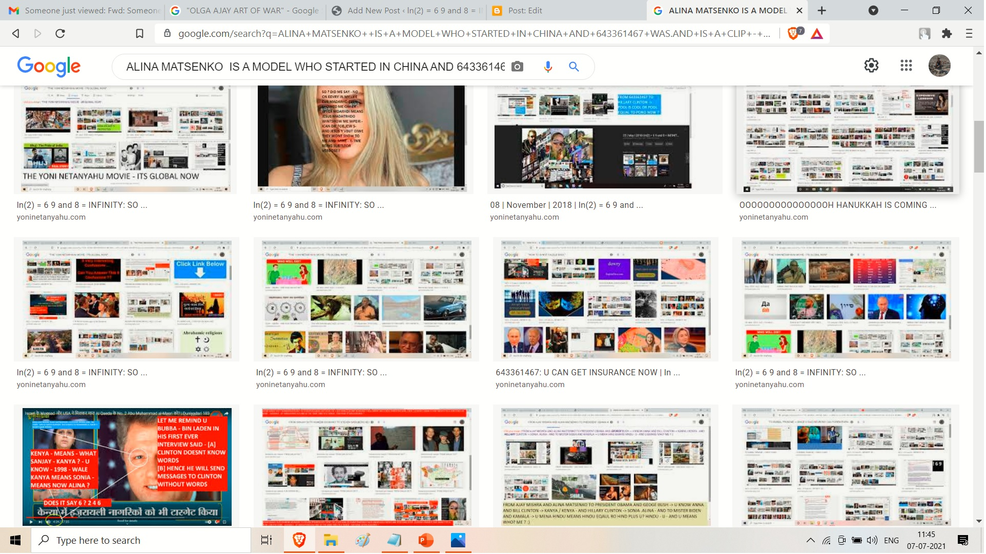 --AND HERE IS ALINA MATSENKO A MODEL WHO SATRTED IN CHINA. UI YES YES MY AIR IN 1987 IIT JEE WAS 3980 WHCH -= UK LYUS RAIN MENAS LONDON PLUS RAIN MENAS MAYFAIR IN LCUKNOW LONDON AND MONSOON--