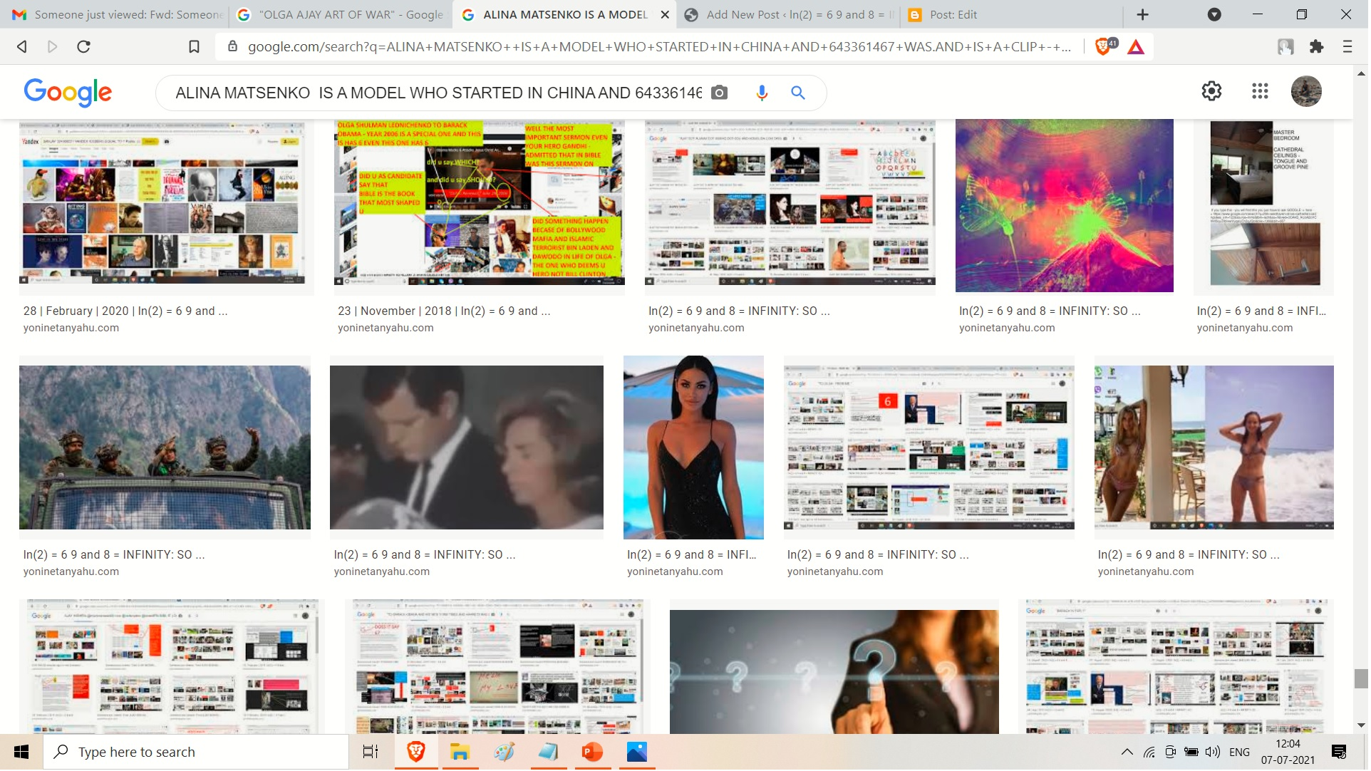 --AND HERE IS ALINA MATSENKO A MODEL WHO SATRTED IN CHINA. UI YES YES MY AIR IN 1987 IIT JEE WAS 3980 WHCH -= UK LYUS RAIN MENAS LONDON PLUS RAIN MENAS MAYFAIR IN LCUKNOW LONDON AND MONSOON----
