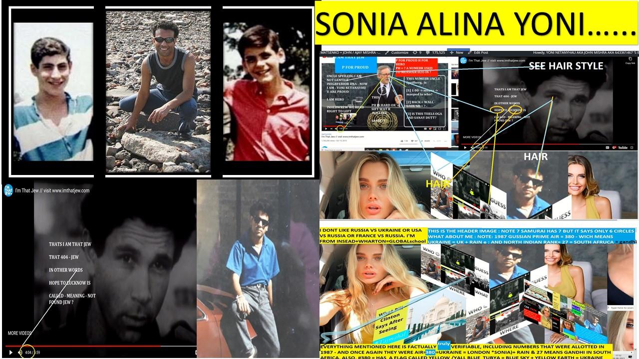 AJAY MISHAR BIBI NETANAYHU ALINA MASTENKO SONIA AND YONI NETANAYHU MOVIE ----- ----