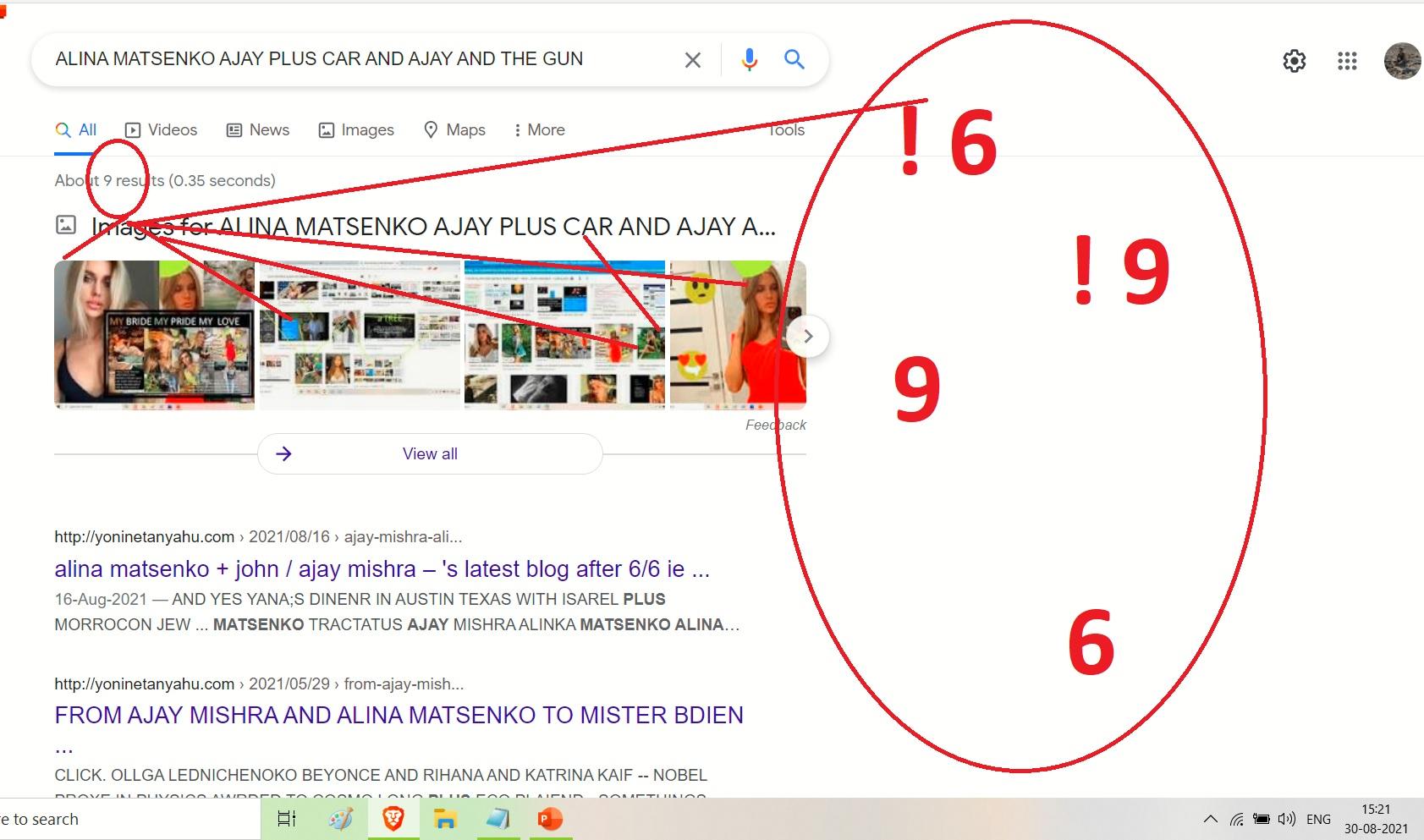 ALINA MATSENKO AJAY PLUS CAR AND AJAY AND THE GUN