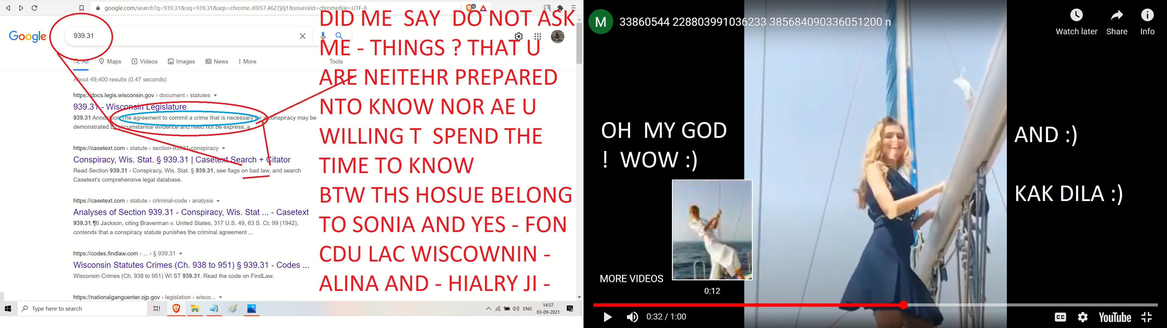 AJAY MISHRA ALINA MATSENKO SONIA AND HIALRY CLINTON ITEM SONG - WHERE IS FON DU LAC WINSCOSN HIALRY JI ===---