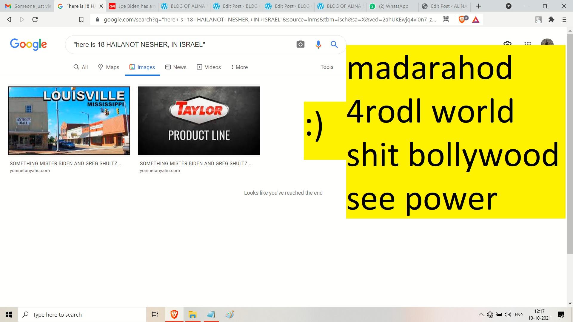maadargod bollywod shit - and 3rd world shit - see olga and neshrr